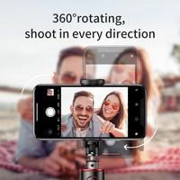 Портативная ручная селфи-палка Baseus, Bluetooth трипод для смартфона и камеры с беспроводным дистанционным управлением для iPhone, Samsung, Huawei, Android 2
