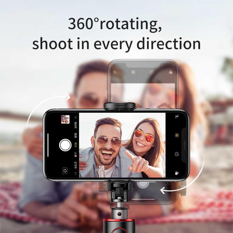 Baseus Bluetooth selfie stick portátil de mano inteligente trípode para cámara de teléfono con control remoto inalámbrico para iPhone Samsung Huawei Android