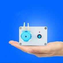 24V laboratory intelligent adjustment peristaltic pump clear water pump high precision long service life free with power supply цена в Москве и Питере