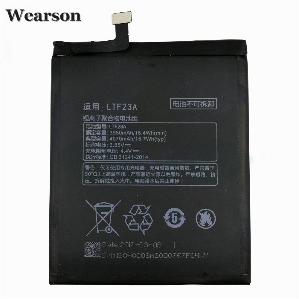 Wearson LTF23A Batterie Pour Letv Pro3 X720 X722 X728 Batterie Typ 4070 mAh Haute Qualité