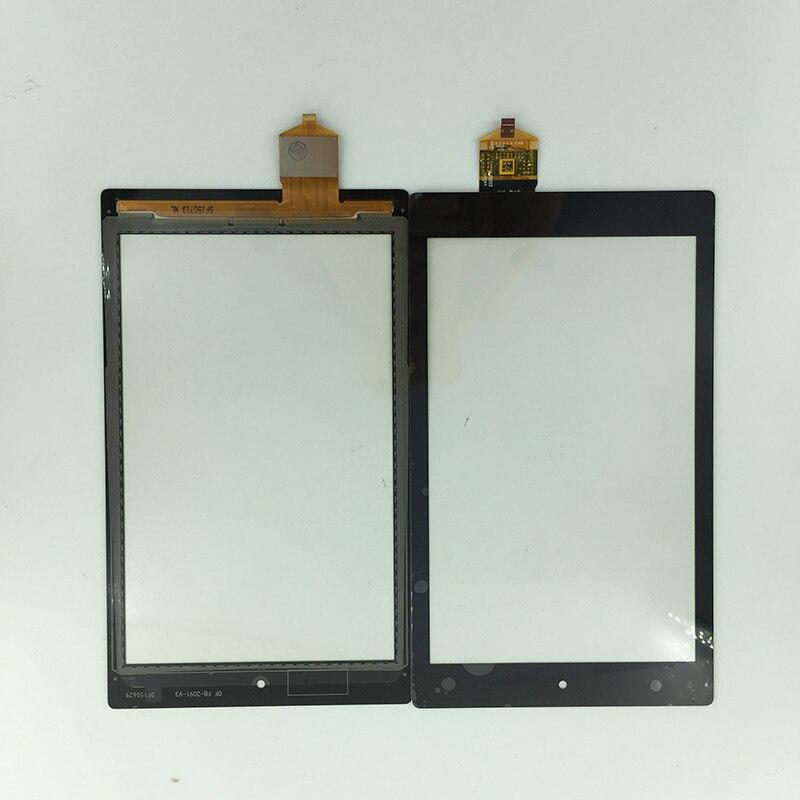Новые 8 спереди Сенсорный экран Панель планшета Сенсор внешний Стекло запасные части для Amazon Kindle Fire HD 8 5th поколения