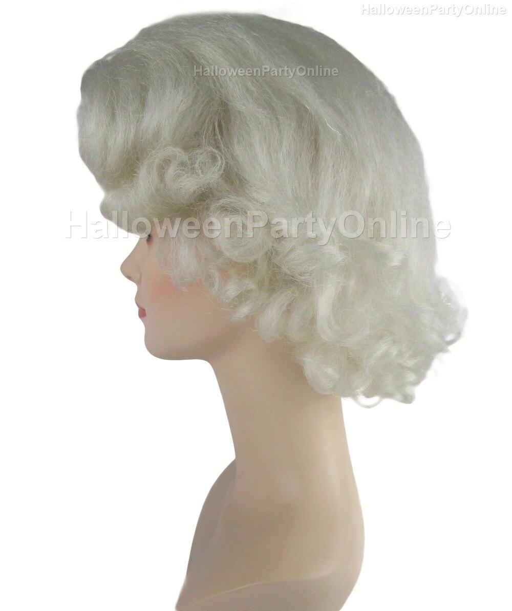 Halloween Party Online Queen Elizabeth II Wig Costume Cosplay HW ...