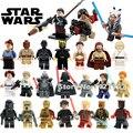 Star Wars Rogue Uno Han Soloet Chirrut Imwe obi wan mini Building Blocks set juguetes para niños compatibles con lepin