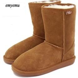 Australia EMYEMU Bronte LO (W20002) 100% Wool inner Winter Snow Boots 5 colors 5825 bronte winter boots women boots