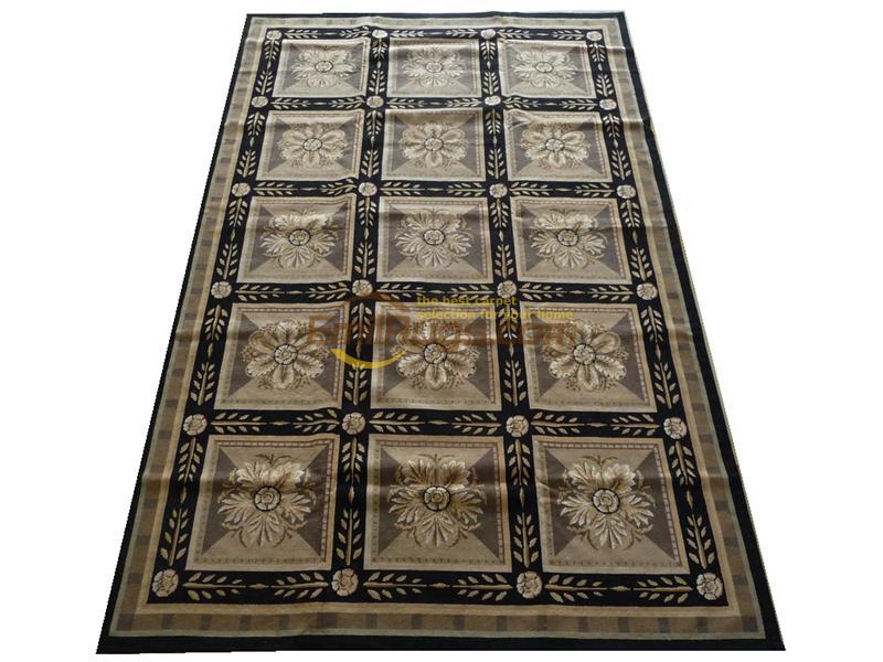 Tapis aiguille de chine cousu à la main Style français tapis en laine décor de Table classique tricot laine tapis tapis