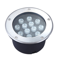 160x95MM 9W/12W LED Outdoor Ground Garden Floor AC85-265V 12V 24V LED Underground Light High Quality Recessed Spot Light RGB