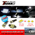 12x LED Car Auto Interior Canbus Error Free Light White 2835 Newest Chips Kit For Audi A3 or S3 (8P) 2006-2011 #67