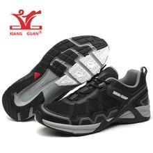XIANG GUAN Man Running Shoes For Men 2017 Nice Athletic Trainers Black Zapatillas Sport Shoe Outdoor Walking Sneakers 3 Cheap
