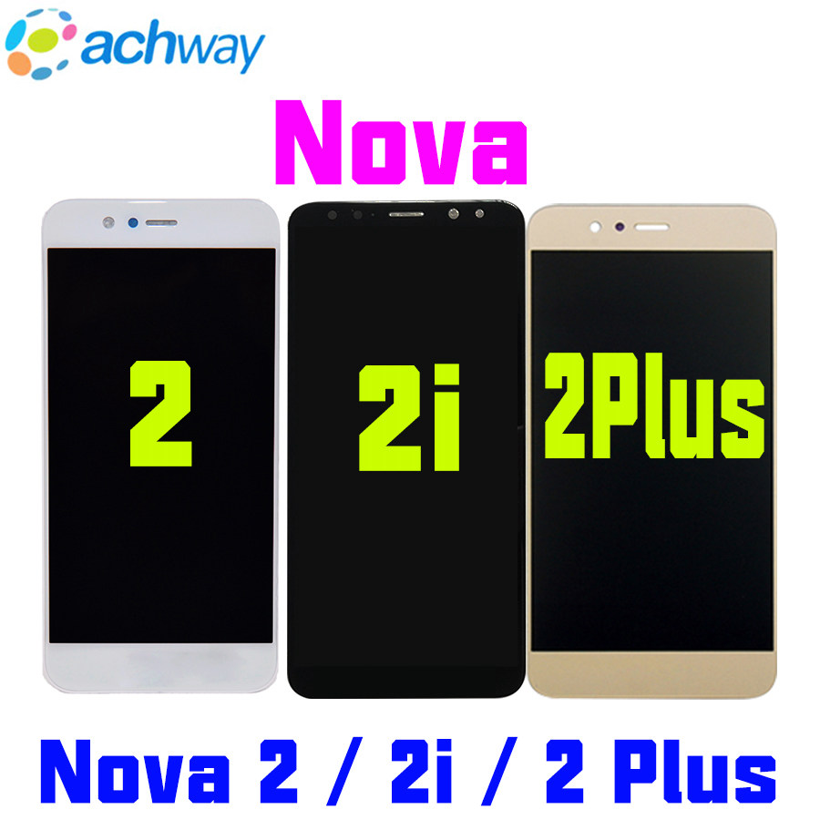 Huawei Nova 2 Plus LCD Display 2i Touch Screen Digitizer Assembly For Huawei Nova 2 LCD Nova2 PIC LX9 L09 L29 Screen ReplacementHuawei Nova 2 Plus LCD Display 2i Touch Screen Digitizer Assembly For Huawei Nova 2 LCD Nova2 PIC LX9 L09 L29 Screen Replacement