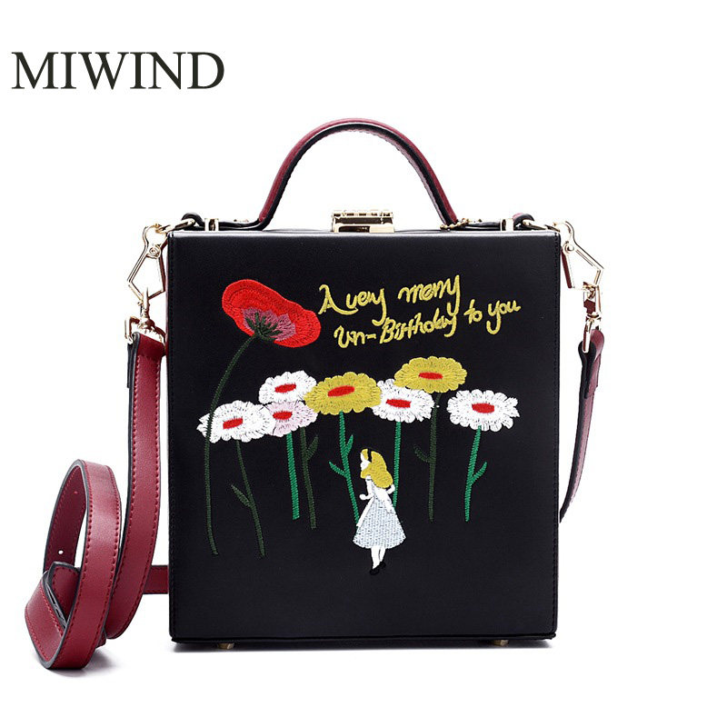 MIWIND Free Shipping Fashion Handbags Retro Flap Bags High Quality Genuine Leather Handbags Women Fashion Shoulder Bag WUMX01 miwind new fashion leather handbags high quality women shoulder bags buy one get another free full set 6 pieces more favorable