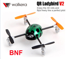 Original Walkera QR Ladybird V2 BNF 3D RC Helicopter 3-Axis-Gyro 2.4GHz With battery and charger Without transmitter and camera