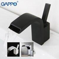 GAPPO basin faucet mixer brass bathroom basin mixer tap waterfall faucet bathroom sink taps torneira wash Basin Sink Faucet