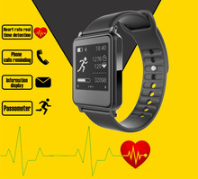 Smart Bracelet Fitness Tracker Band Bluetooth 4.0 Wristband Sports Health Heart Rate Monitor Intelligent Smart Watch