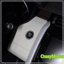 Para Land Rover Discovery 5 2017 Interior de arranque/parada interruptor de botón de ajuste de la decoración 1 unids accesorios