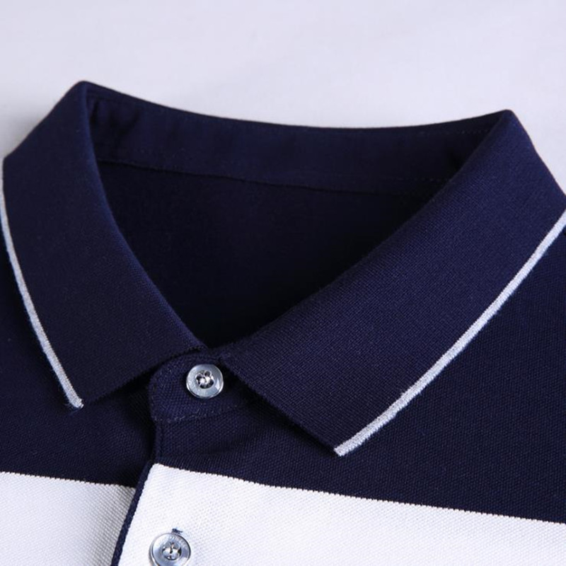 2018 New Men summer casual shirt slim fit short sleeve 100%cotton breathable soft business striped embroidery shirts Po11 5
