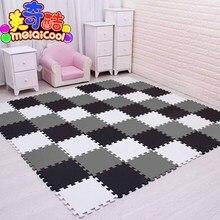 Mei Qi Cool Baby Eva Foam Play Puzzel Mat Voor Kids Grijpende Oefening Tegels Vloer Tapijt Tapijt, elke 29X29cm18 24/ 30 Pcs Playmat