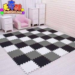 Mei qi kühlen baby EVA Schaum Spielen Puzzle Matte für kinder Verriegelung Übung Fliesen Boden Teppich Teppich, jeder 29X29cm18 24/30 stücke playmat