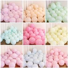 20 sztuk Macaron balony na brzuszkowe dekoracje stołu ślub wieczór panieński wieczór panieński dorosłych dzieci chłopiec dziewczyna jednorożec artykuły urodzinowe