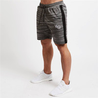 DANT BULUN NEW Summer Cool Mens Shorts Professional Fitness Bodybuilding Fashion Casual Gyms Workout Crossfit Brand