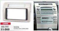 Рамка + стерео dvd плеер автомобиля android 6,0 Авторадио gps навигационные головки для TOYOTA COROLLA VERSO 2004 2009 3g магнитофон