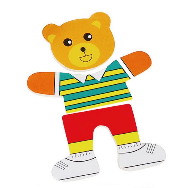 Dress-Up Bear Game