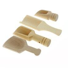 Кухня специи деревянный порошок Ложка инструменты для ванной душ соли мини ложка горячая распродажа