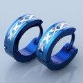 Men's Women's Stainless Steel Hoop Huggie Ear Hoop Earring Fashion Jewelry Punk