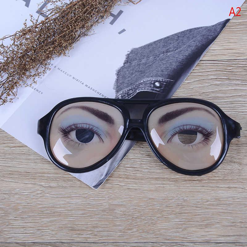 1Pc Neue Erwachsene Partei Super Lustig Augen Brillen Maske Kostüm Disguise Streich Witz Gläser