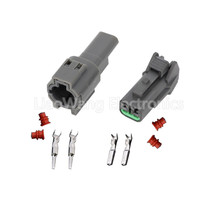 5PCS 2 Pin KUM DJ7029A-1.5-21 Waterproof Sealed Automotive Connector With Terminals