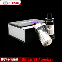 100% Original EHPRO Billow V3 RBA atomizer 4.6ml Billow v3 Rda tank with 510 thread Top fill billow v3 vaping for mod