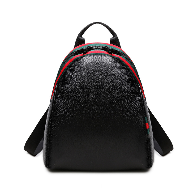 2017 Hot New Casual WomenBackpack Female LeatherWomen s Backpacks Black Bagpack Bags Girls Casual Travel Bag