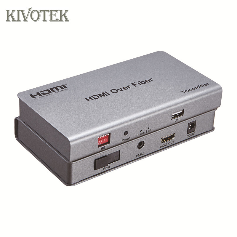 KIVOTEK HDMI Extender/Transceiver 20km over SC Fiber Cable,with IR,Support Signal Mode Fiber/Multi Mode Fiber, N TXs to N RXs 5pcs lot irf9520 irf9520 to 220ab ir n channel 100