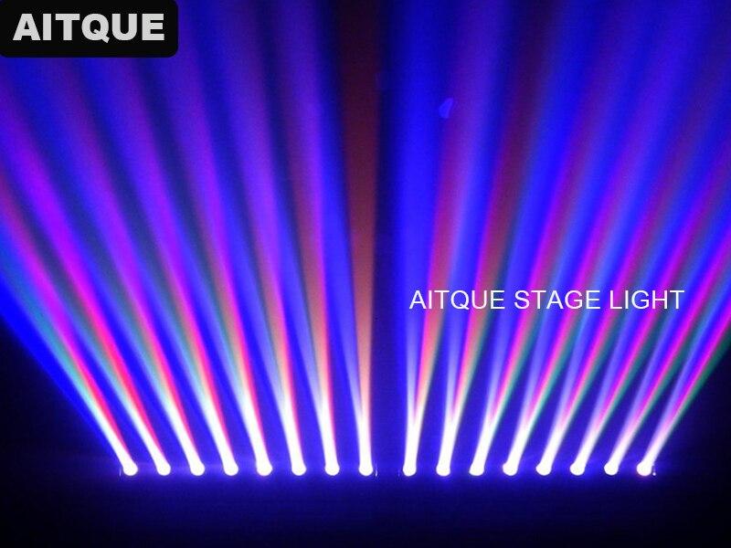 8 Лот Дискотека светодиодный свет движущийся линейный светодиодный свет 8х10вт Quan луч бар движущаяся головка RGBW светодиодный свет