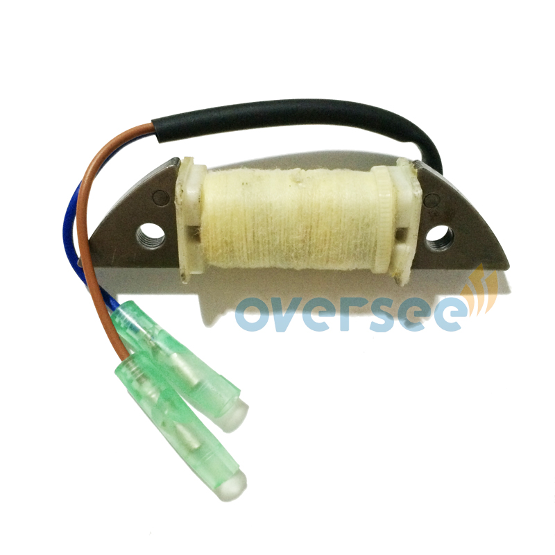 OVERSEE 63V-85520-00 Outboard Charge Coil Replaces For 9.9HP 15HP Parsun Yamaha Outboard Engine