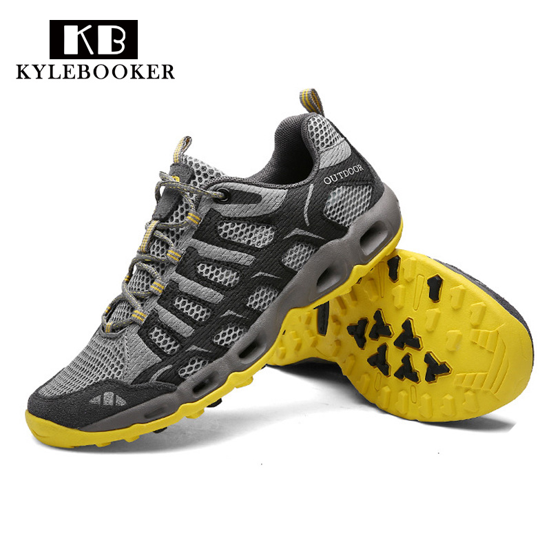 Breathable Wading upstream Shoes Trekking Aqua Shoes Water Sports Hiking Outdoor Sneakers Walking Fishing Shoes