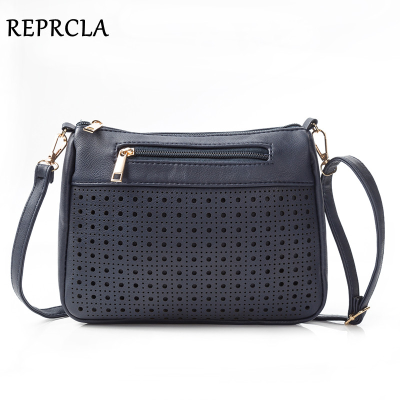 REPRCLA Brand Hollow Out Women Bags High Quality PU Leather Shoulder Bag Fashion Ladies Crossbody Messenger Bags HandbagsREPRCLA Brand Hollow Out Women Bags High Quality PU Leather Shoulder Bag Fashion Ladies Crossbody Messenger Bags Handbags
