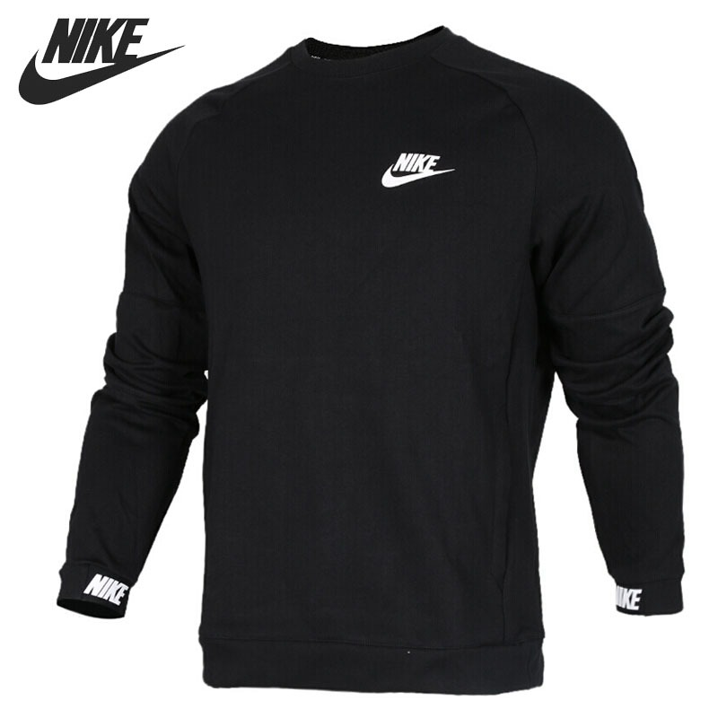 Original New Arrival 2018 NIKE S M NSW AV15 CRW FLC Men's Pullover Jerseys Sportswear universal 12 7mm sata 2nd ssd hdd hard drive caddy for dvd rom cd optical bay l059 new hot