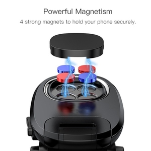 Image 2 - Metrans ユニバーサル磁気車電話ホルダー 360 回転エアベントアウトレット自動車電話マウントスタンドホルダーテレフォン tutucu
