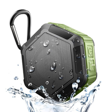Aimitek Portable Mini Bluetooth Speaker Wireless Waterproof IP65 Subwoofer Outdoor Shockproof Dustproof TF Hands-free with Mic
