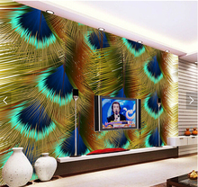 Buy Peacock Feather Backdrop And Get Free Shipping On Aliexpress Com
