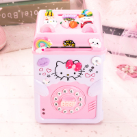 8 model Cartoon Electronic Piggy Bank ATM Password Money Box Cash Coins Saving Box Safe Box Automatic Deposit box Christmas Gift