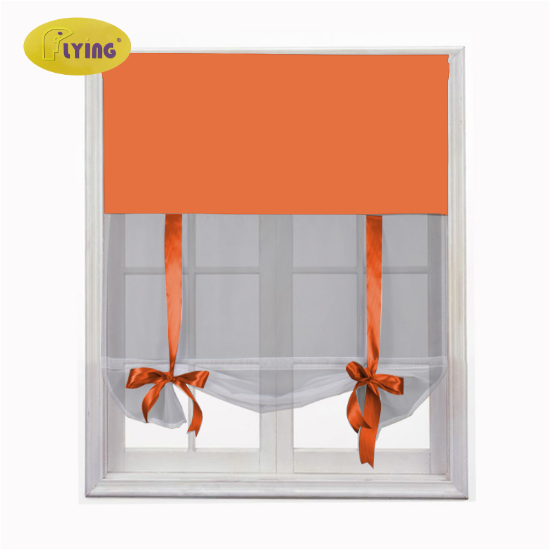 Flying Soft Pure White Tulle Curtains for Kitchen Sheer Curtain for Balcony Window Treatments Sheer Kitchen Voile Yarns