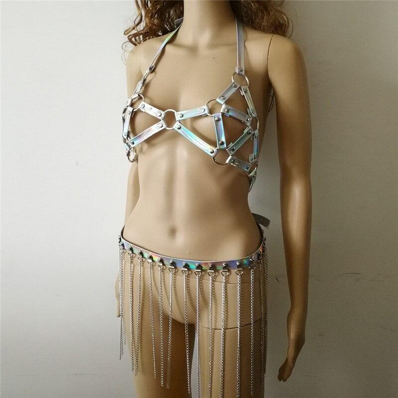 Nouveau-Style-De-Mode-WRB1045-Femmes-Laser-En-Cuir-Harnais-Bondage-Plage-Cou-Cha-ne-Choker (3)