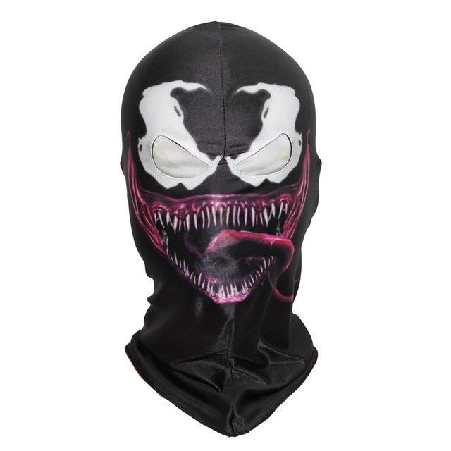 2 Styles Spider Man The Venom Mask Cosplay Spiderman Edward Brock