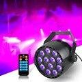Professionelle LED Par Licht 12 LEDs Par Bühne Licht 20 W DMX 512 Traum Farbe Licht für Club DJ Zeigen home Party Ballsaal Bands UV-in Bühnen-Lichteffekt aus Licht & Beleuchtung bei
