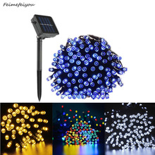 22 M 200LED Solar Fairy Lights String Waterproof Solar Power Light Outdoor Garden LED Holiday Decoration 2m outdoor waterproof ip65 decoration light 100ma dc 1 2v led solar string light outdoor string led holiday decor lamp
