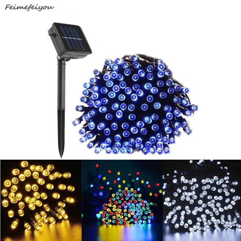 22 M 200LED Solar Fee String Wasserdichte Solar Power Licht Outdoor Garten LED Urlaub Dekoration