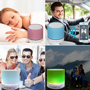 Image 4 - LED Portable Mini Bluetooth Speakers Wireless Speaker With TF Mic Blutooth Music For Xiaomi iPhone phone