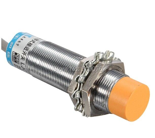 LJ18A3 enfoque Sensor cilíndrico capacitiva interruptor de proximidad NPN 6-36 V