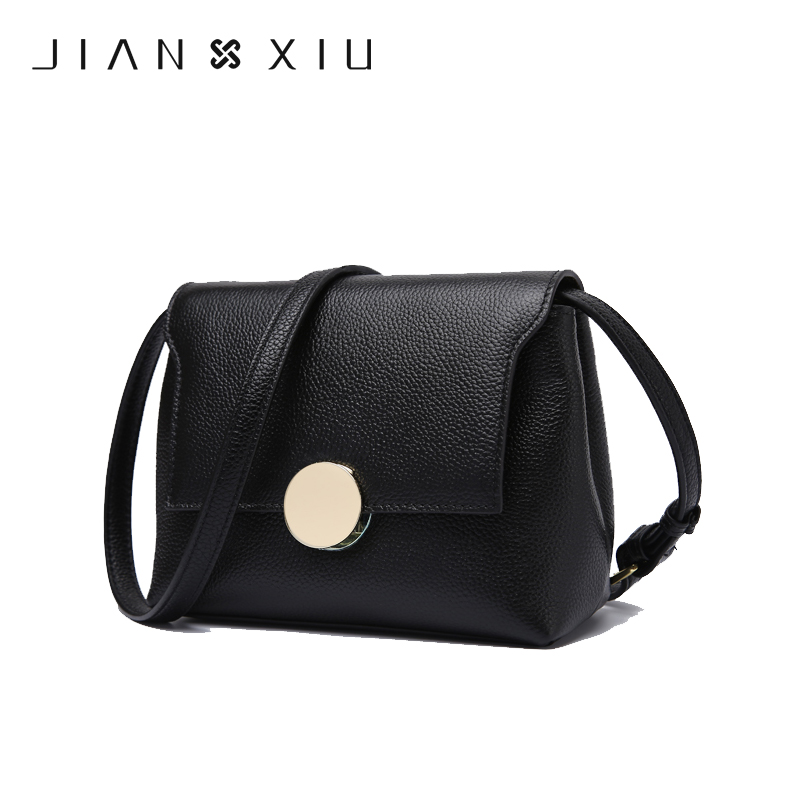 JIANXIU Crossbody Bags for Women Genuine Leather Luxury Handbags Women Bags Designer Shoulder Messenger Tote Bag Handbag W658 giaevvi luxury handbags split leather tote women messenger bags 2017 brand design chain women shoulder bag crossbody for girls